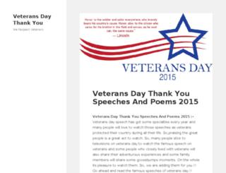veteransdaythankyou.com screenshot