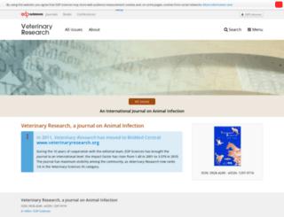 vetres.org screenshot