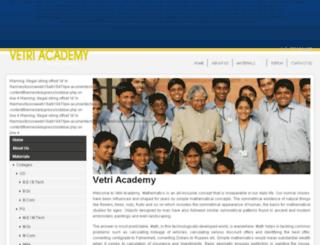 vetriacademy.com screenshot