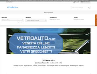 vetroauto.it screenshot