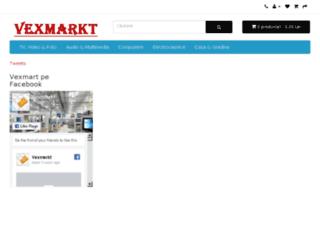 vexmarkt.ro screenshot