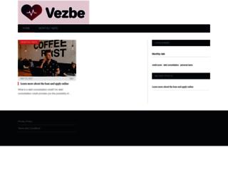 vezbe.net screenshot