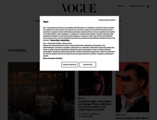 vfno2012.vogue.it screenshot