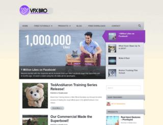 vfxbro.com screenshot