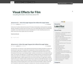 vfxforfilm.wordpress.com screenshot
