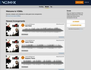 vgremix.com screenshot