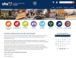 vhs-ostalb.de screenshot
