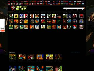 vi.ben10alien.net screenshot