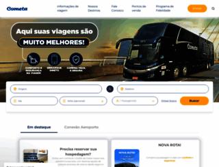 viacaocometa.com.br screenshot