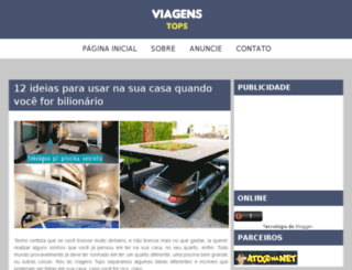 viagenstops.com.br screenshot