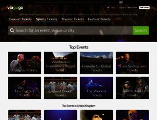 viagogo.co.uk screenshot