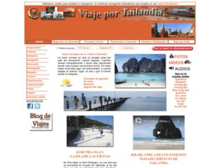 viajeportailandia.com screenshot