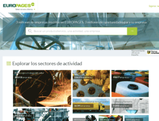 viajes-21.europages.es screenshot