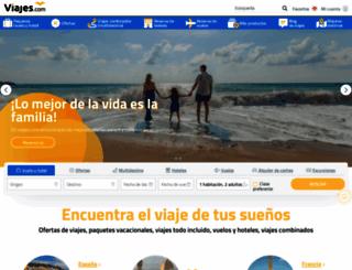 viajes.com screenshot