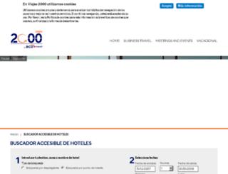 viajes2000accesibles.es screenshot