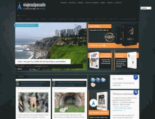 viajesalpasado.com screenshot