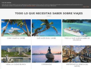 viajesenlared.com screenshot
