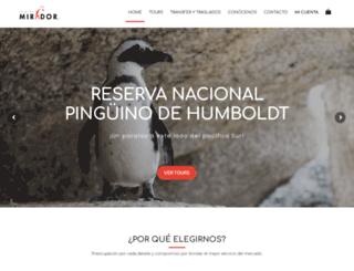 viajesmirador.com screenshot