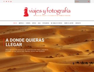 viajesyfotografia.com screenshot