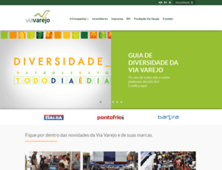 viavarejo.com.br screenshot