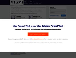 viavisolutions.corporateperks.com screenshot