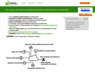 viaweb.hu screenshot