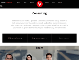 viberagency.com screenshot