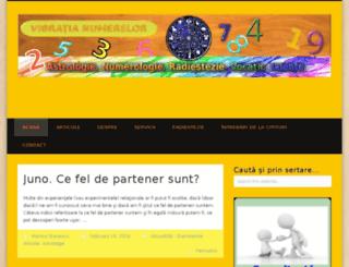 vibratianumerelor.com screenshot