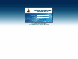 vic.camau.gov.vn screenshot
