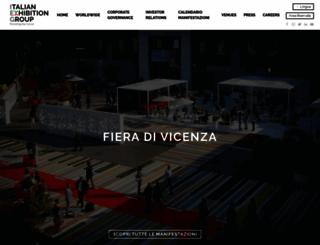 vicenzafiera.it screenshot