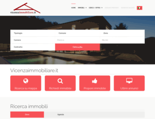 vicenzaimmobiliare.it screenshot