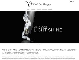 vickiorrdesigns.com screenshot