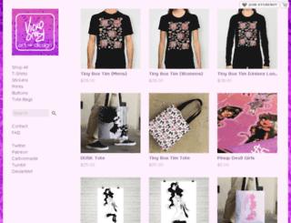 vickorano.storenvy.com screenshot