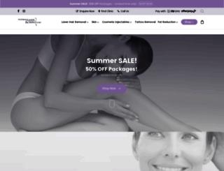 viclaser.com.au screenshot