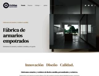 vicmas.es screenshot
