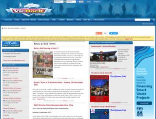 vicrock.com.au screenshot