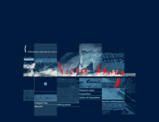 victorhugo.bnf.fr screenshot