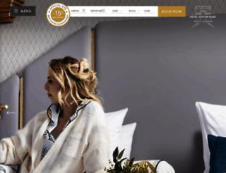 victorhugohotel.com screenshot