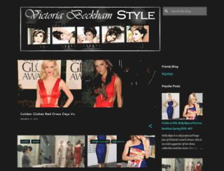 victoriabeckham-jenna.blogspot.com screenshot
