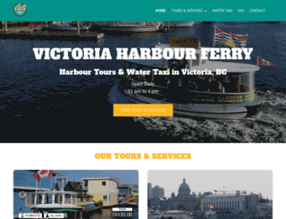 victoriaharbourferry.com screenshot