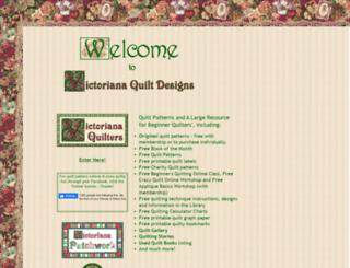 victorianaquiltdesigns.com screenshot
