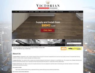 victoriandesignerfloors.com.au screenshot