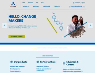 victrex.com screenshot