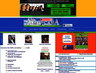 vidaamericana.com screenshot