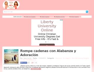 vidaentremujeres.com screenshot