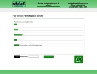 vidalsistemas.com.br screenshot
