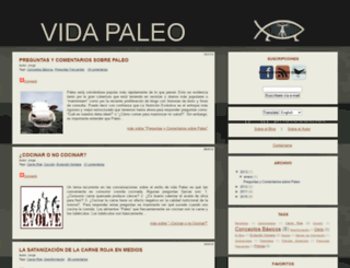vidapaleo.com screenshot