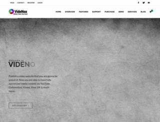 videnox.com screenshot