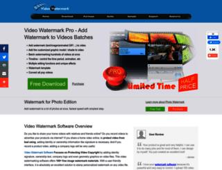 video-watermark.com screenshot