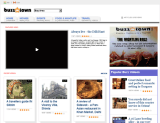 video.buzzintown.com screenshot